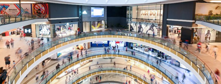 Panoramic shot inside Mid Valley Southkey Megamall